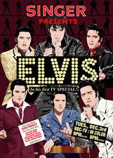 Elvis Presley - Comeback Special 1968 poster - Jarod Art