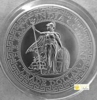 2018 St. Helena 1 oz .999 Silver British Trade Dollar Restrike