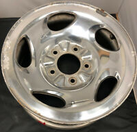 ONE USED 1995-2000 Ford F-150 Expedition XL34-1007-BA OEM Wheel 16 POLISHED 1485