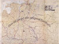 Heereskarten Ost  von Juli 1943 - August 1943