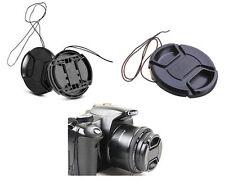 55mm Centre Snap on Camera Lens Cap Cover for Sony Nikon Pentax Panasonic Canon