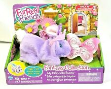 FurReal Friends Flutterbelle Fantasy Collection My Princess Bunny Purple New