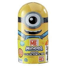 Despicable Me Minions Mineez Collectors Tin With Exclusive Clive The Robot