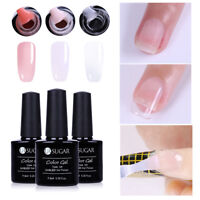 3pcs/Set UR SUGAR Clear  Soft Pink Nail Poly Qucik Building UV Gel Extension