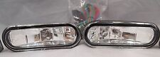 "CHEVROLET 5"" RECTANGLE FOG LIGHTS UNIVERSAL CAR TRUCK SUV CLEAR KIT SET HARNESS"