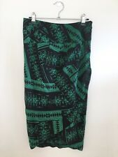 Country Road 100% Silk Wrap Skirt Size 6