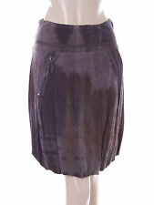 New Ladies Bande Originale Grey Brown Skirt Size Medium 10 EU 38