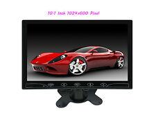 10.1'' HD 1024*600 Ultra Thin TFT LCD Color 2-CH DVD VCR Car Rear View Monitor