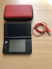 Nintendo 3DS XL Console Red Bundle TESTED WORKING Charger Game GOOD CON