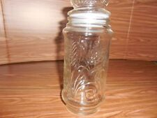 "Planter's Peanut ""Mr. Peanut"" Anchor Hocking 13 oz Canister Jar 1982"