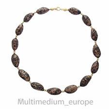 Murano Aventurin Glas Collier Halskette aventurine glass necklace vtg 🌺🌺🌺🌺🌺