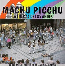 """Machu Picchu """"la Fuerza de los Andes"""" VOL. 1/CD-come nuovo"""