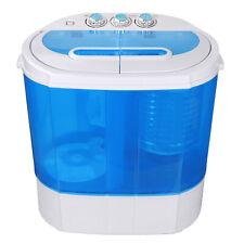 10lbs Mini Portable Compact Washing Machine Spin-Dry Laundry Washer w/Drain pump