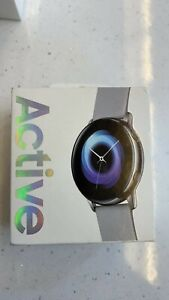 Samsung Galaxy Watch Active - 40mm - Brand New Sealed Box - Silver/Light Grey