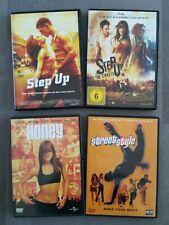 4 DVD - Tanz - Musik - Filme - Step Up , Street Style , Honey - Guter Zustand