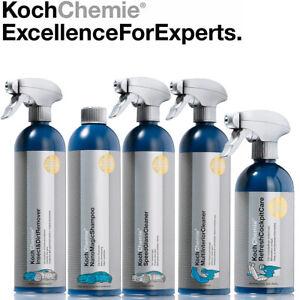 Koch Chemie 5-teiliges Autopflege-Set Komplettpaket Innenpflege Außenpflege