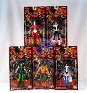 DC DIRECT JUSTICE LEAGUE IDENTITY CRISIS ACTION FIGURE SET Green Arrow Hawkman