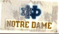 NOTRE DAME UNIVERSITY  LEXTRA PATCH
