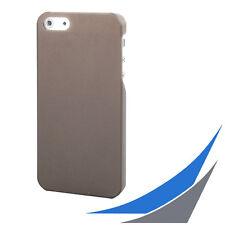 [ für iPhone 5/5S/SE ]  Slim Case - Grau frosted  + 1x Displayfolie