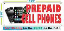 Full Color PREPAID CELL PHONES Banner Sign for SHOP convience store Smart