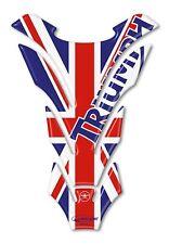 Tank Pad Stickers Resin 3D Tank Motorcycle Triumph English Flag