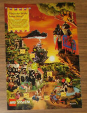 Seltene Werbung LEGO System Castle 6086 Ritterburg 6081 Spukschloß NL 1992