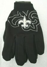 New Orleans Saints with Raised Team Logo Licensed NFL Sport Utility Gloves-New!