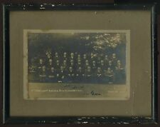 Lawn Bowling Competition Participants, June 1917 (Framed B&W Photo) Bowls, Green