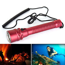 100M 7000LM 3X XM-L2 Tauch lamp Diving Scuba Flashlight  Hand lamp Torch 30W
