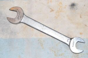 BONNEY 1027-A OPEN END WRENCH 5/8 X 11/16 inch QUALITY VINTAGE USA TOOL