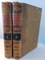 1825 Histoire von Der Revolution Von 1688 IN England T.2+3 f. A.J.Mazure A Paris