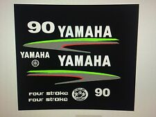 Yamaha Outboard Custom Lime Green Kit Marine vinyl 4 Stroke by request 25 - 90hp