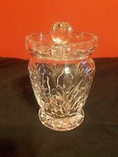 Waterford Crystal Canterbury Lidded Biscuit Barrel