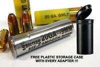 20GA to 9MM Shotgun Adapter - Chamber Reducer - Stainless - Free Case & Shipping