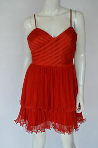 Guess By Marciano New Women's Dress Size L Eu 42 Color Red