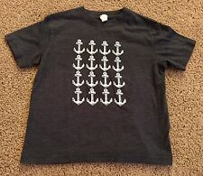 Rabbit Skins Boys Anchor T-Shirt~ Size 5/6 ~ Worn Once ~ Excellent Condition