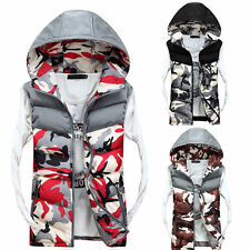 Men Women Unisex Waistcoat Bodywarmer Sleeveless Coat Warm Down Gilet Vest Gift