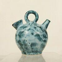 Gargoulette vintage en céramique des années 50 émaux nuageux dlg Blin