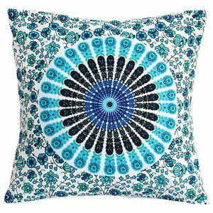 Indian Mandala Sofa Pillow Cushion Cover Hippie Bohemian Throw Cushion Pillows