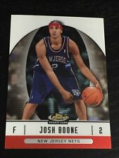 2006-07 Finest JOSH BOONE RC #66 basketball card ~ NEW JERSEY NETS rookie ~ F1