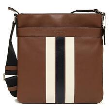 Coach Men's Bag F54193 Charles Crossbody in Varsity Leather Agsbeagle