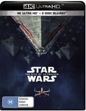 Star Wars The Rise of Skywalker 4K Ultra HD + 2 Disc Blu-ray BRAND NEW Region B