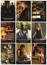 2014 Cryptozoic The Vampire Diaries Season 3 - 72 Trading Card Set + Empty Box