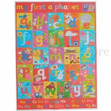 My ABC Alphabet Learn Children's Educational Silk Cloth Poster Decor 45x33.5CM