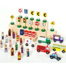 Guidecraft Community & Roadway Essentials G6717 Playset NEW