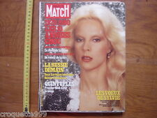 1979 PARIS MATCH 1597 Sylvie Vartan Quintuples La Russie demain Chine Amerique