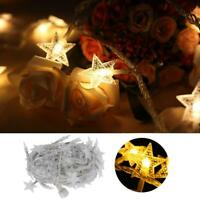 Luci di Natale a LED per esterni da giardino Fairy String Light Waterproof