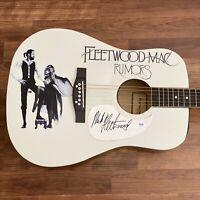 Mick Fleetwood Signed Guitar PSA/DNA COA Custom 1/1 Graphics! FLEETWOOD MAC