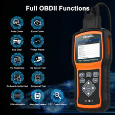 FOXWELL ABS Airbag SRS SAS Reset Code Reader OBD2 EOBD Engine Diagnostic Scanner