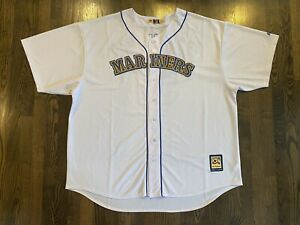 Majestic Cooperstown Collection RANDY JOHNSON #51 Seattle Mariners Jersey 5XL